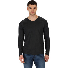 Regatta Kiro II Longsleeve Shirt Heren, black